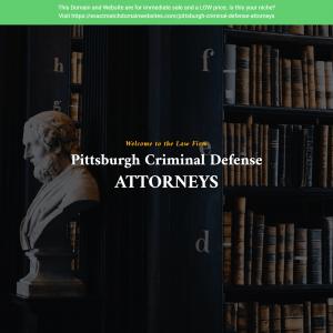 Criminal Defense Attorney Pittsburgh