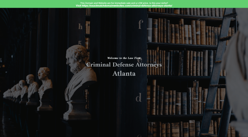 Criminal Defense Attorneys Atlanta