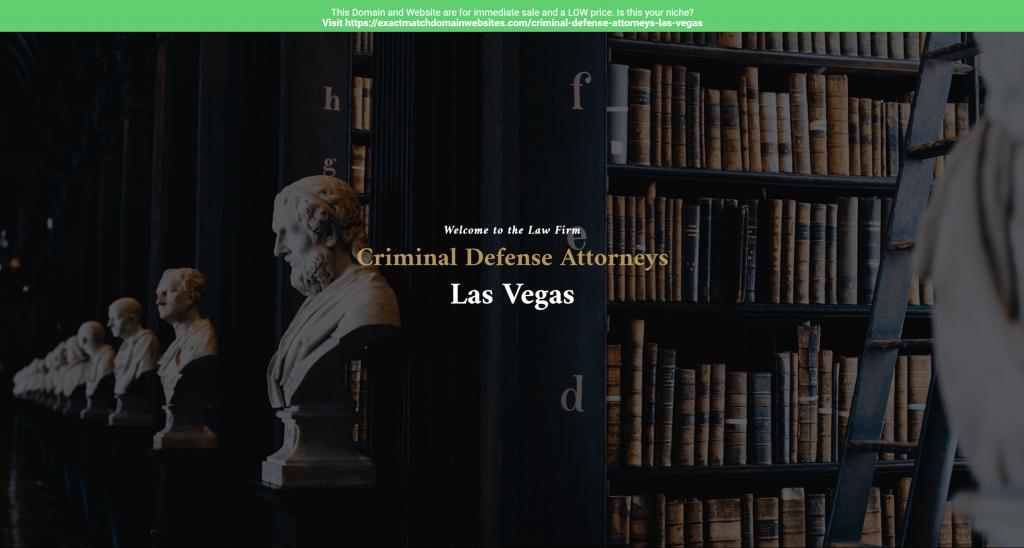 Criminal Defense Attorneys Las Vegas