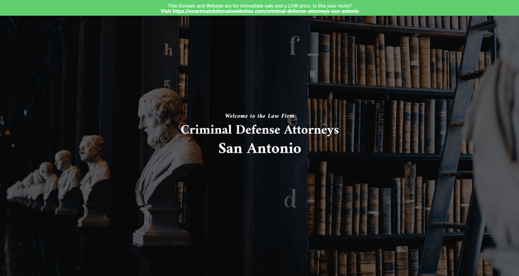 Criminal Defense Attorneys San Antonio