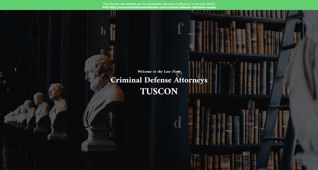 Criminal Defense Attorneys Tucson