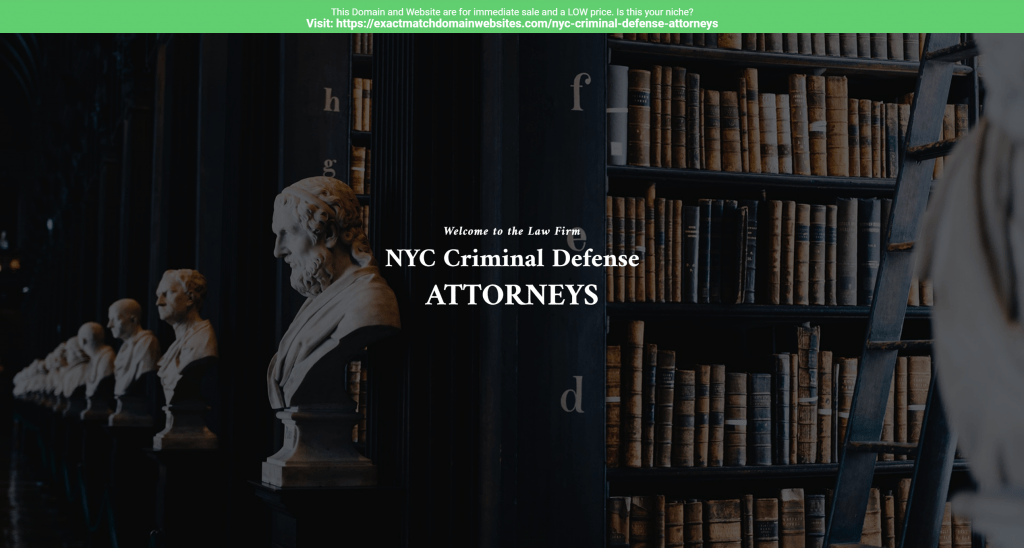 NYC Criminal Defense Attorneys