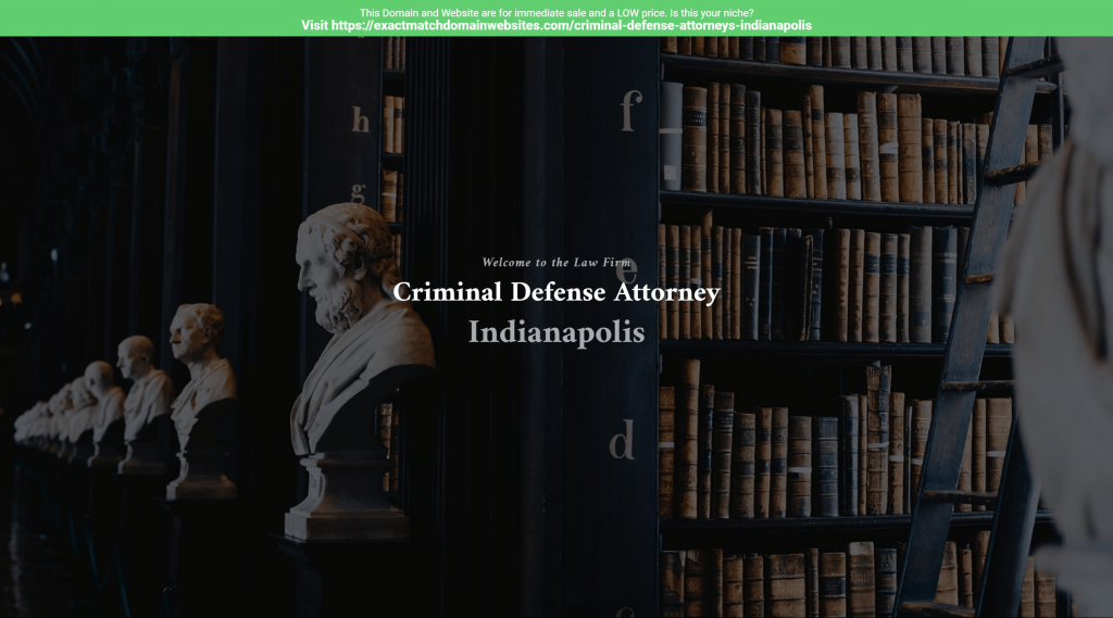 Criminal Defense Attorneys Indianapolis