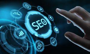SEO Search Engine Optimization Marketing Ranking Traffic Website Internet Business Technology Concept